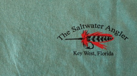 Salt Water Angler Comfort Colors Short Sleeved: Tarpon