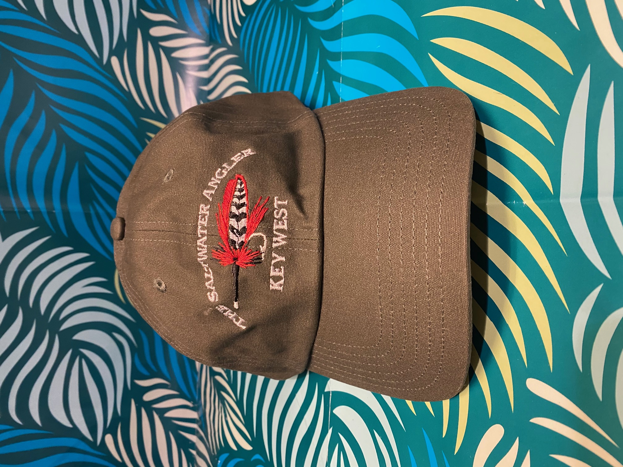 Simms Saltwater Angler Oil Cloth Cap