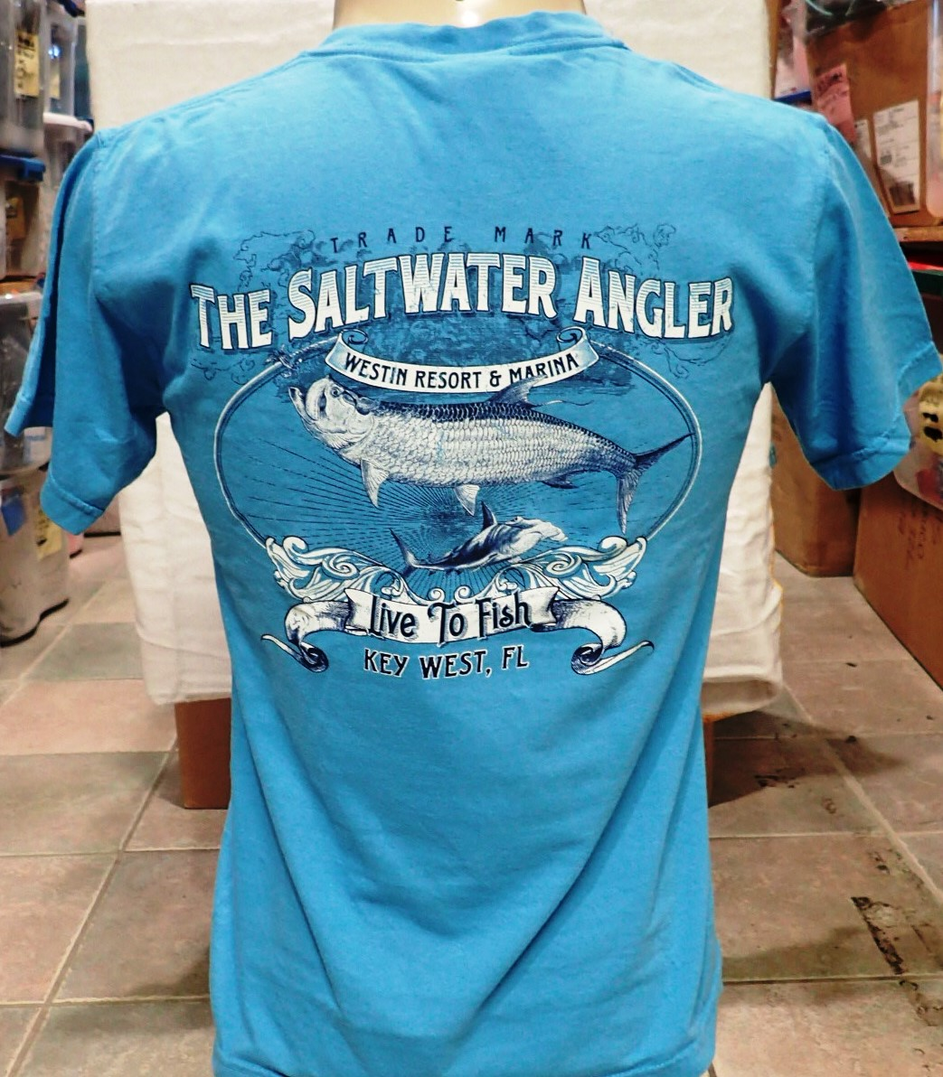 Key west fishing at saltwater angler key west fishing for West marine fishing shirts