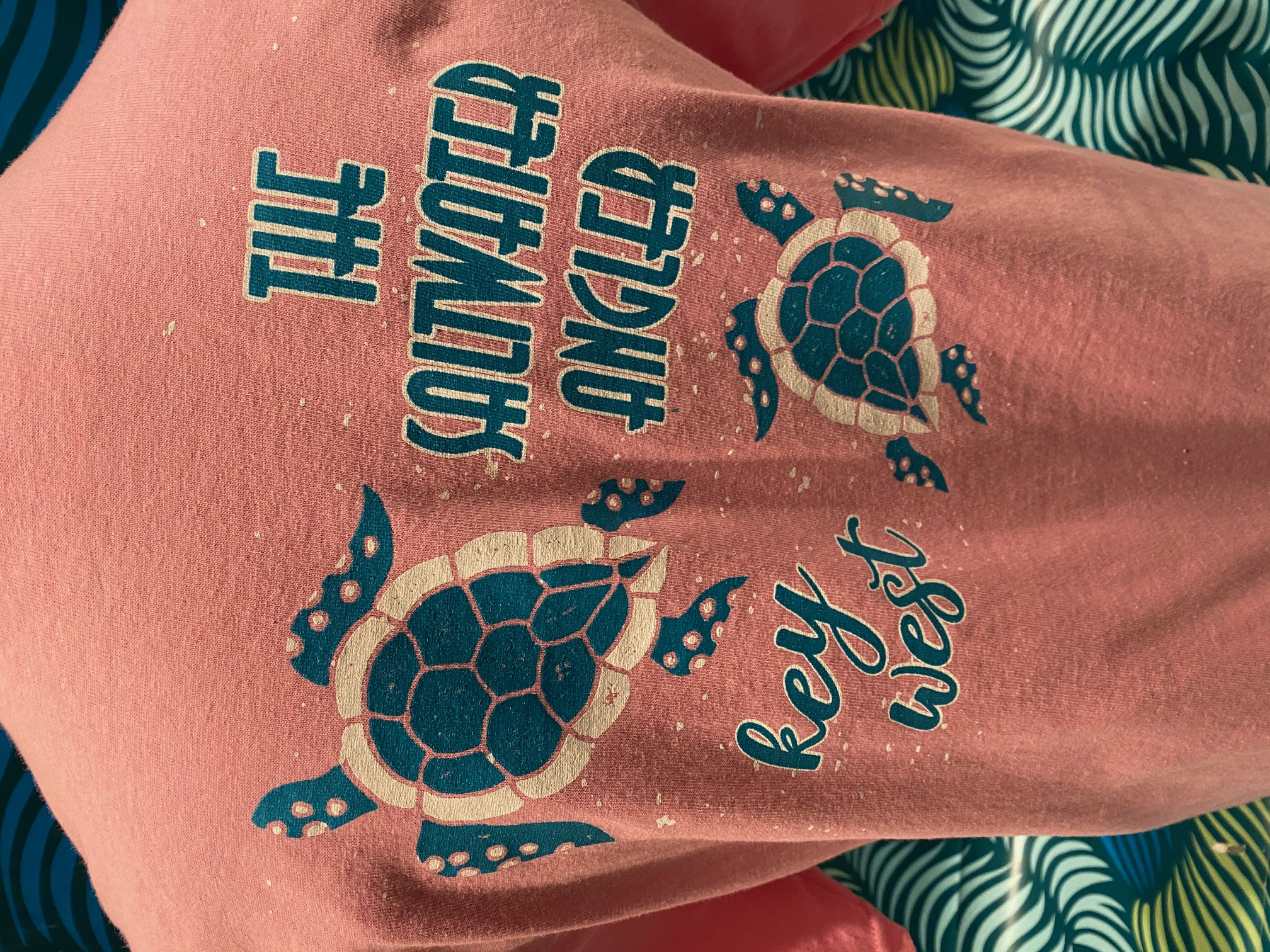 Saltwater Angler Youth Turtle T-Shirt