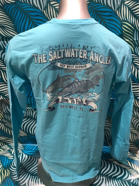 Saltwater Angler Long Sleeved: Bonefish