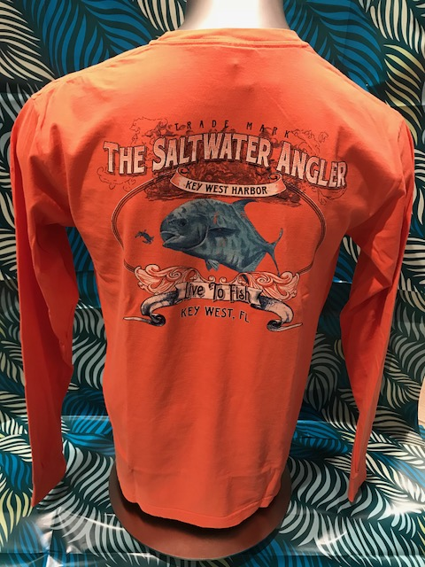 Saltwater Angler Long Sleeved: Permit