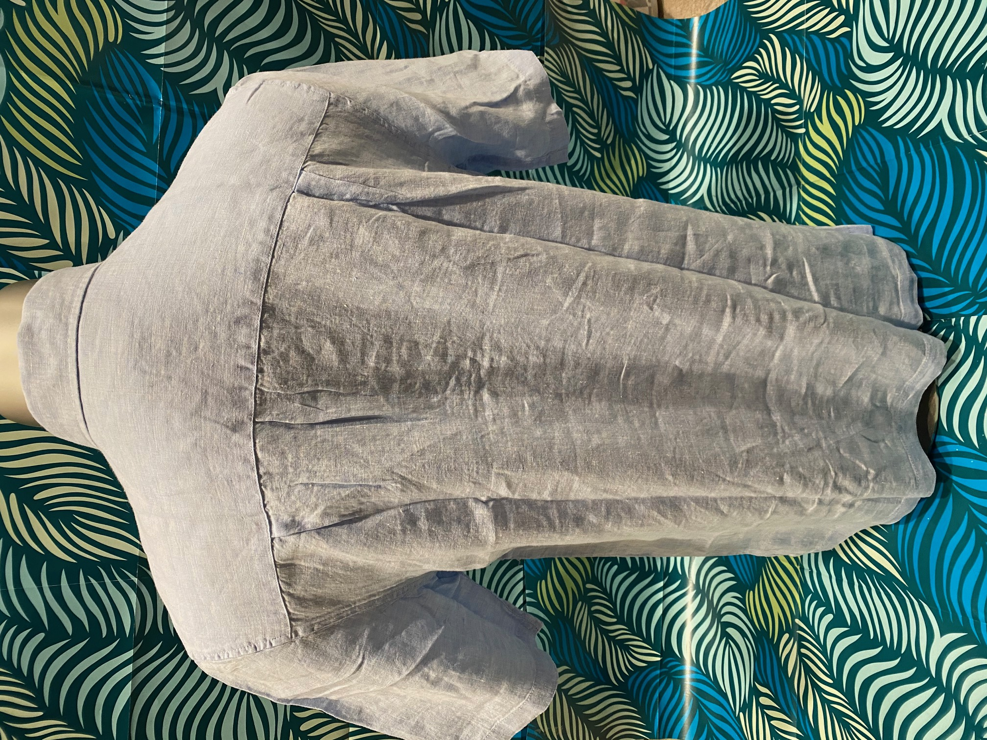 Saltwater Angler S/S Linen Button Down