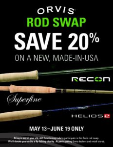 Orvis Rod Swap with Saltwater Angler Key West