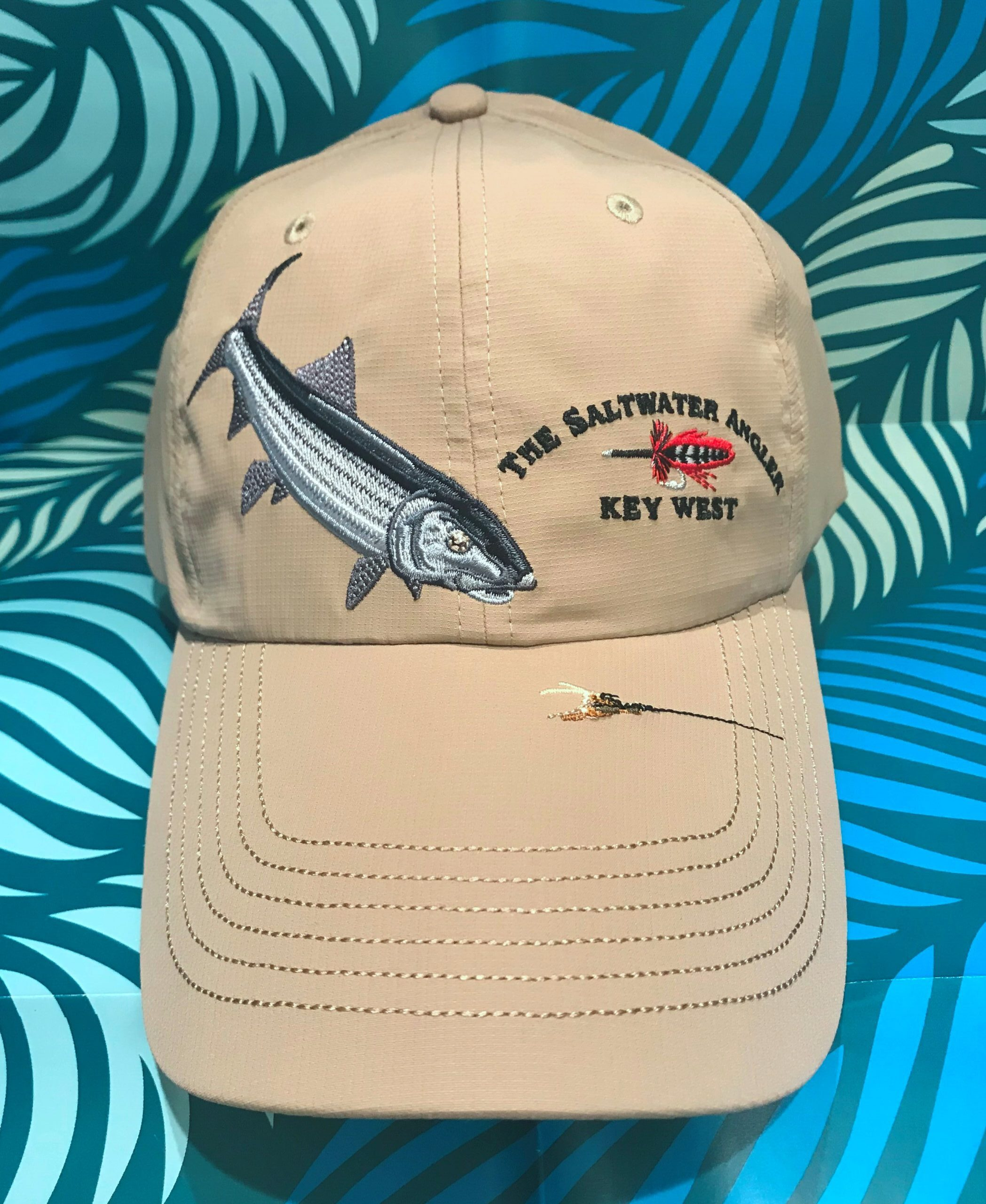 Saltwater Angler Long Bill Bonefish Cap