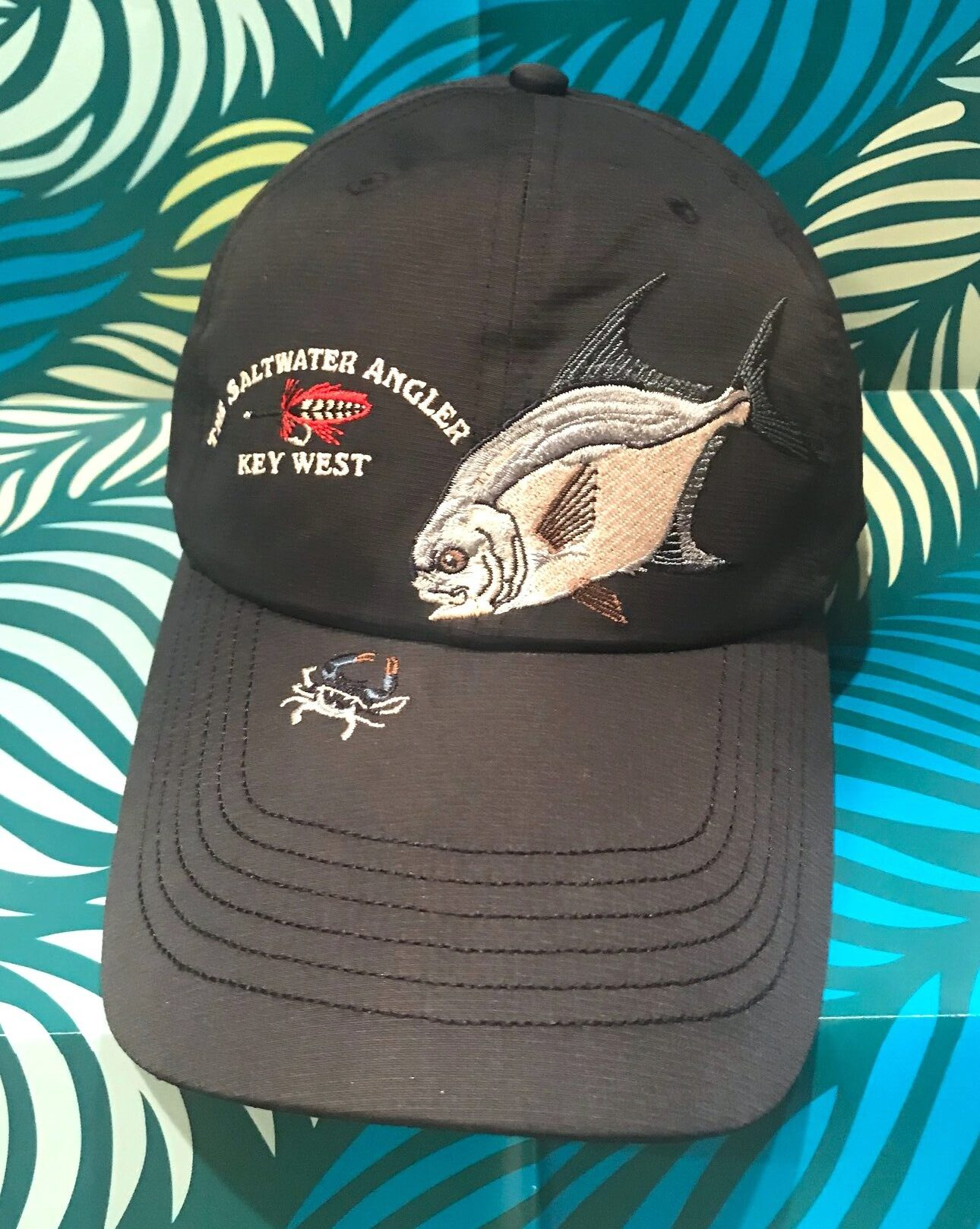 Saltwater Angler Long Bill Permit Cap