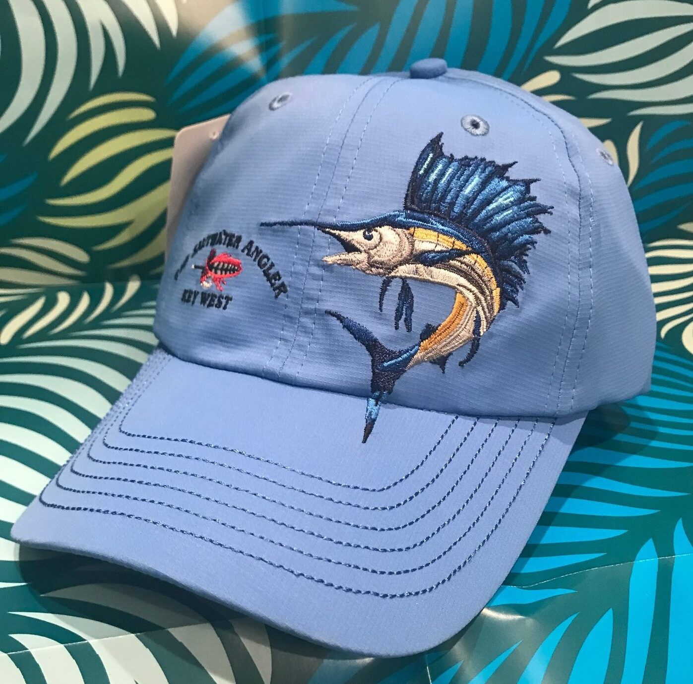 Saltwater Angler Long Bill Sailfish Cap