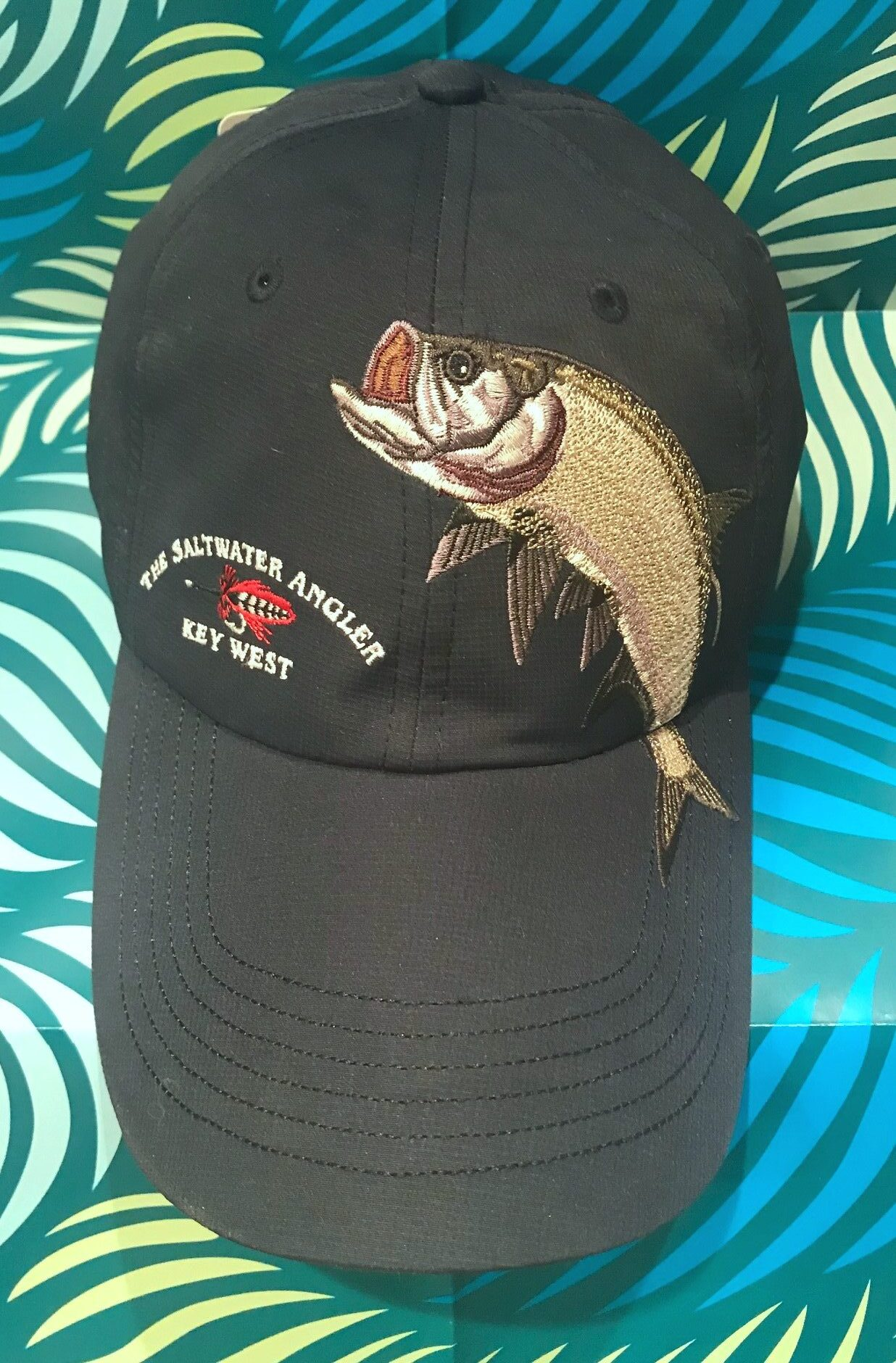 Saltwater Angler Long Bill Tarpon Cap
