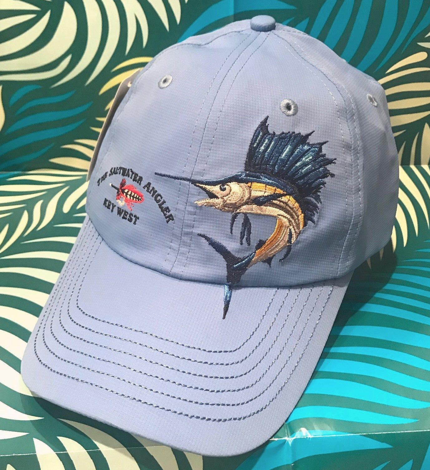 saltwater angler performance cap