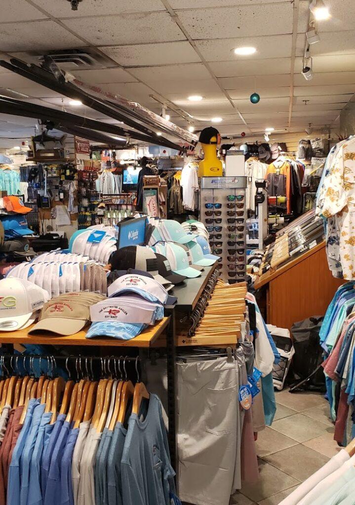 saltwater angler store inside