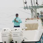 capt tony murphy with saltwater angler